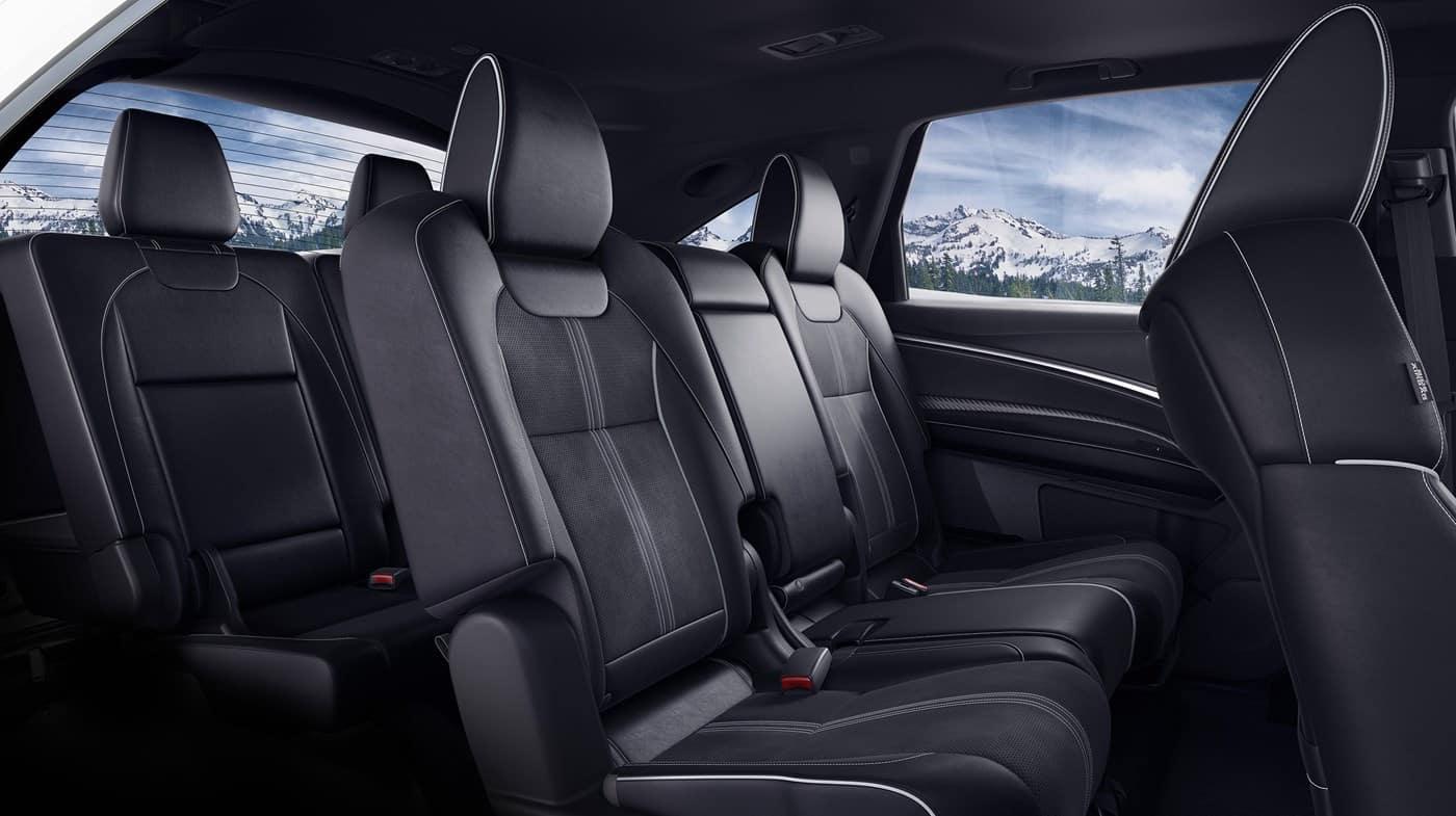 2019 Acura MDX Colors Black Interior