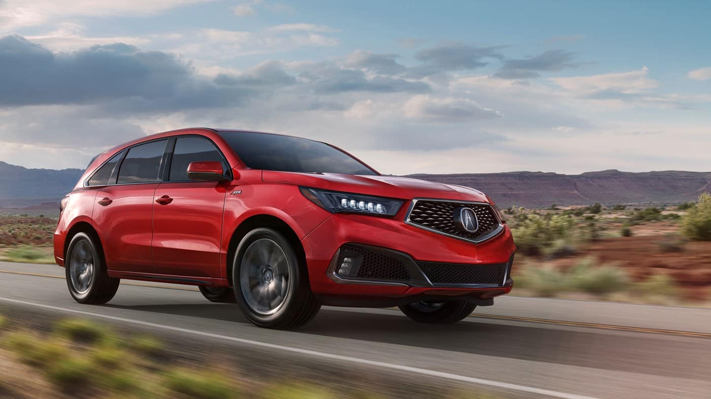 2019 Acura MDX Colors Red Exterior