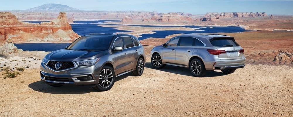 2019 Acura MDX Colors