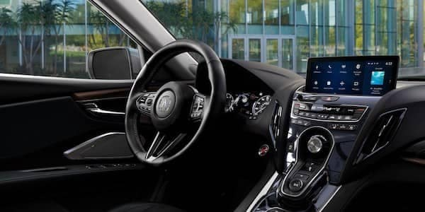 2019 Acura RDX Leather Wrapped Steering Wheel