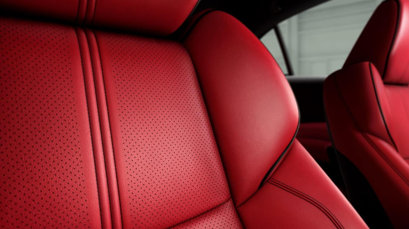 2019 Acura TLX Red Interior