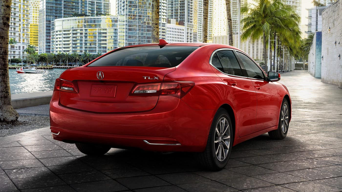 2019 Acura TLX Red