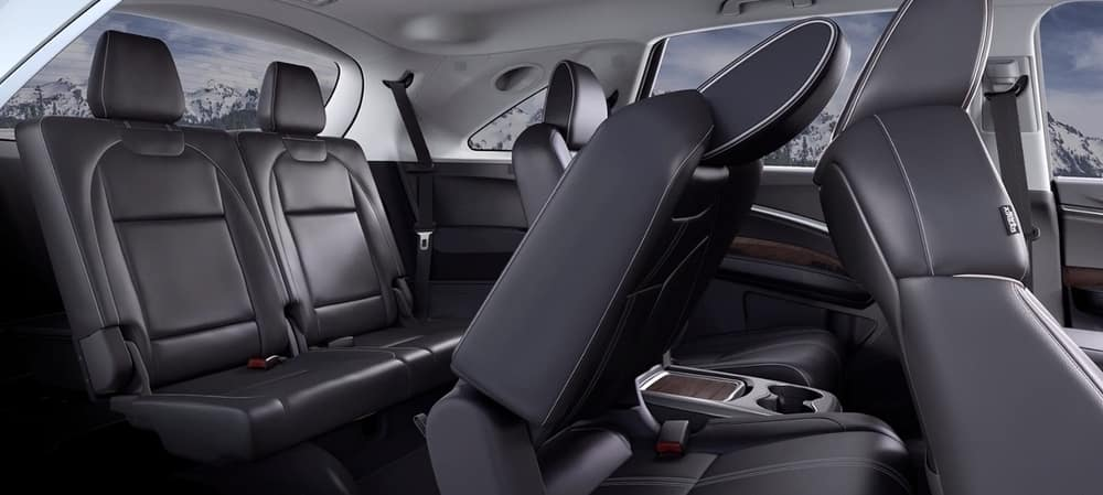 The 2019 Acura MDX Folded Seats