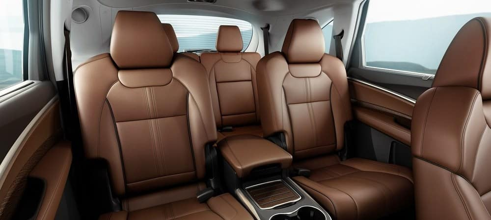 The 2019 Acura MDX Passenger Space