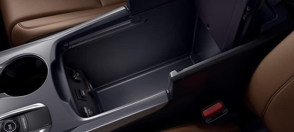 The 2019 Acura MDX Storage Options