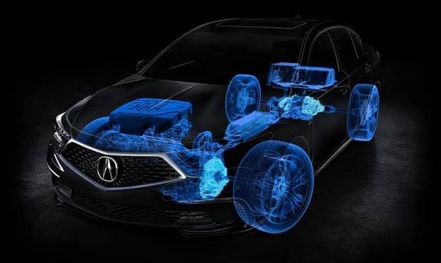 2019 Acura RLX Hybrid System