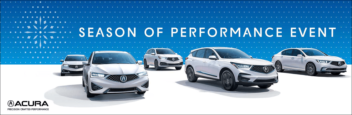 2018 Acura Season of Performance Event from Your Chicagoland Acura Dealers