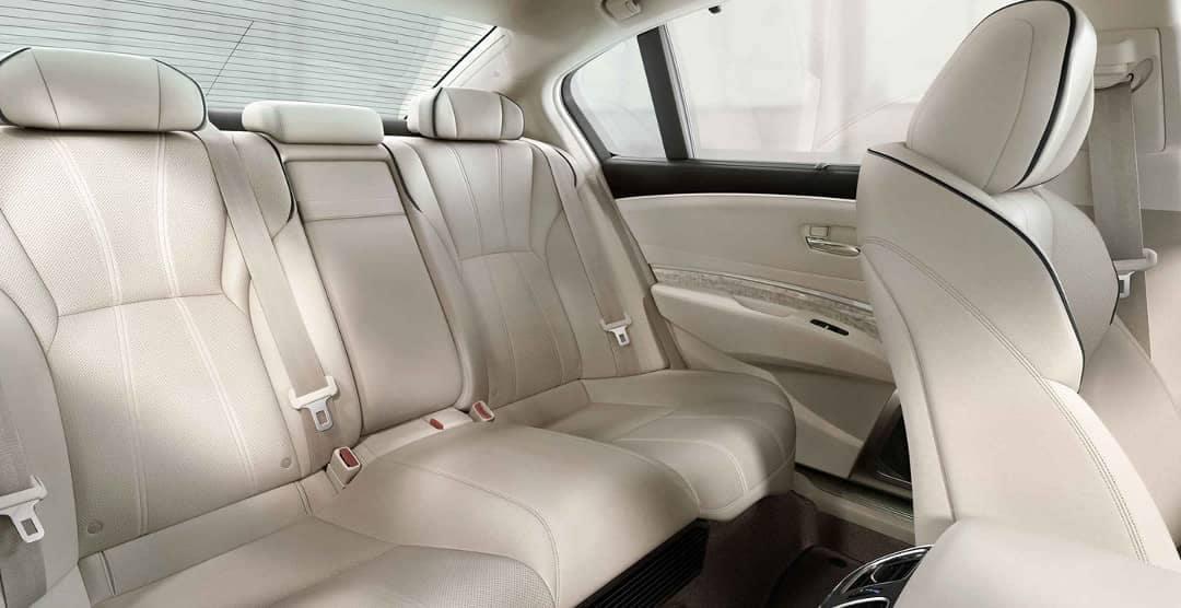 2019 Acura RLX rear seats