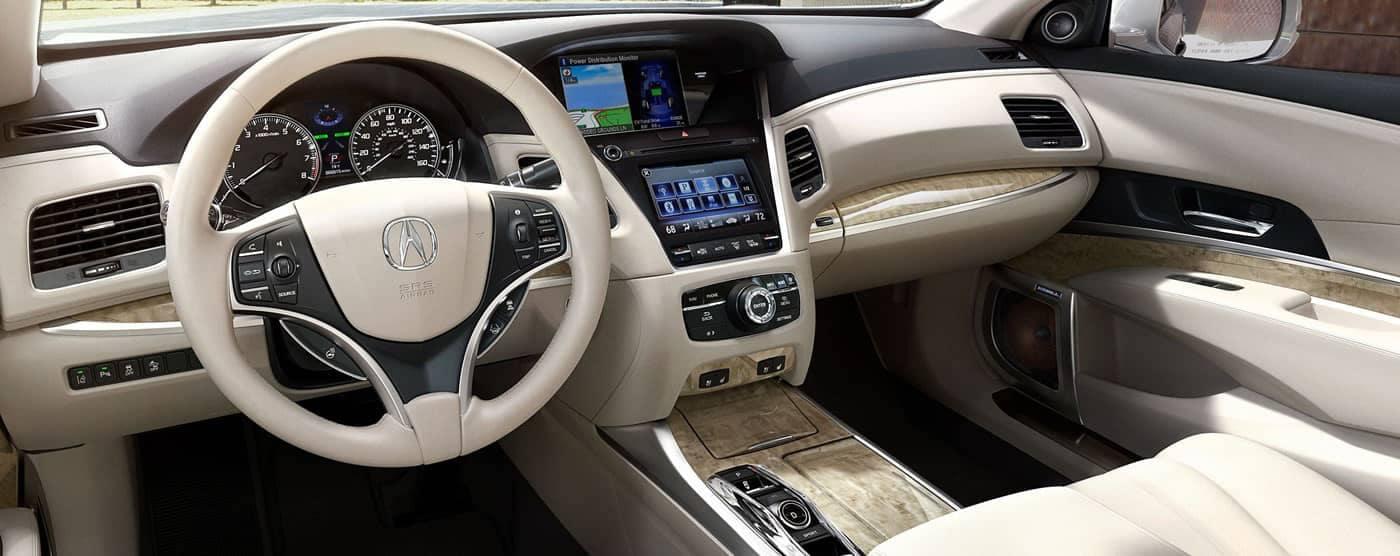 2019 Acura RLX tech interior