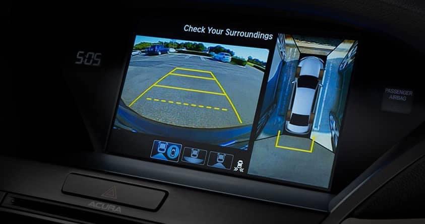 backup camera in 2019 Acura RLX