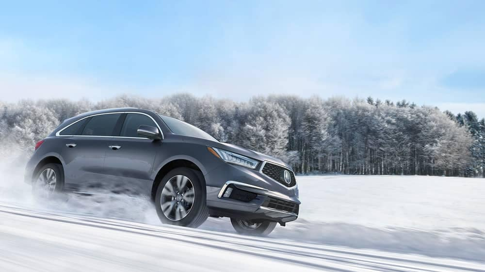 2019 Acura MDX In snow