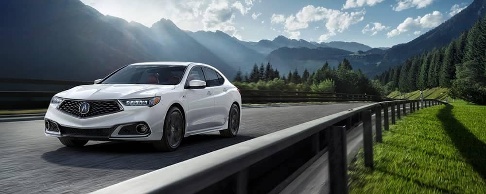 2019 Acura TLX Driving