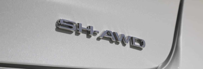 2019 Acura TLX SH-AWD badge
