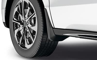 Acura Genuine Accessories MDX Splash Guard Set
