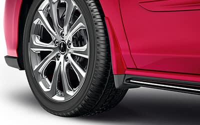 Acura Genuine Accessories RLX Splash Guard Set