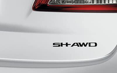 Acura Genuine Accessories TLX SH-AWD Black Chrome Emblem