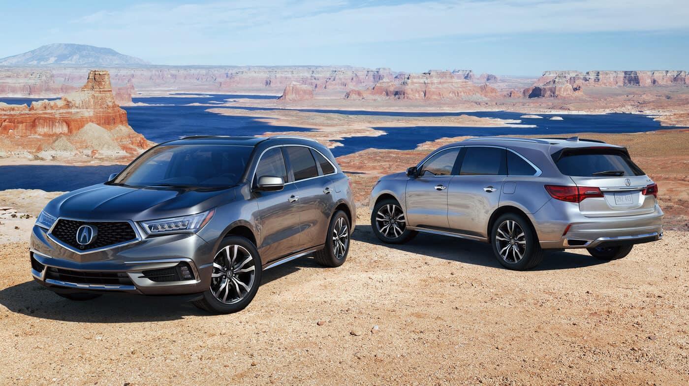 2019 Acura MDX SH-AWD Exterior Multi-Vehicle Desert Location