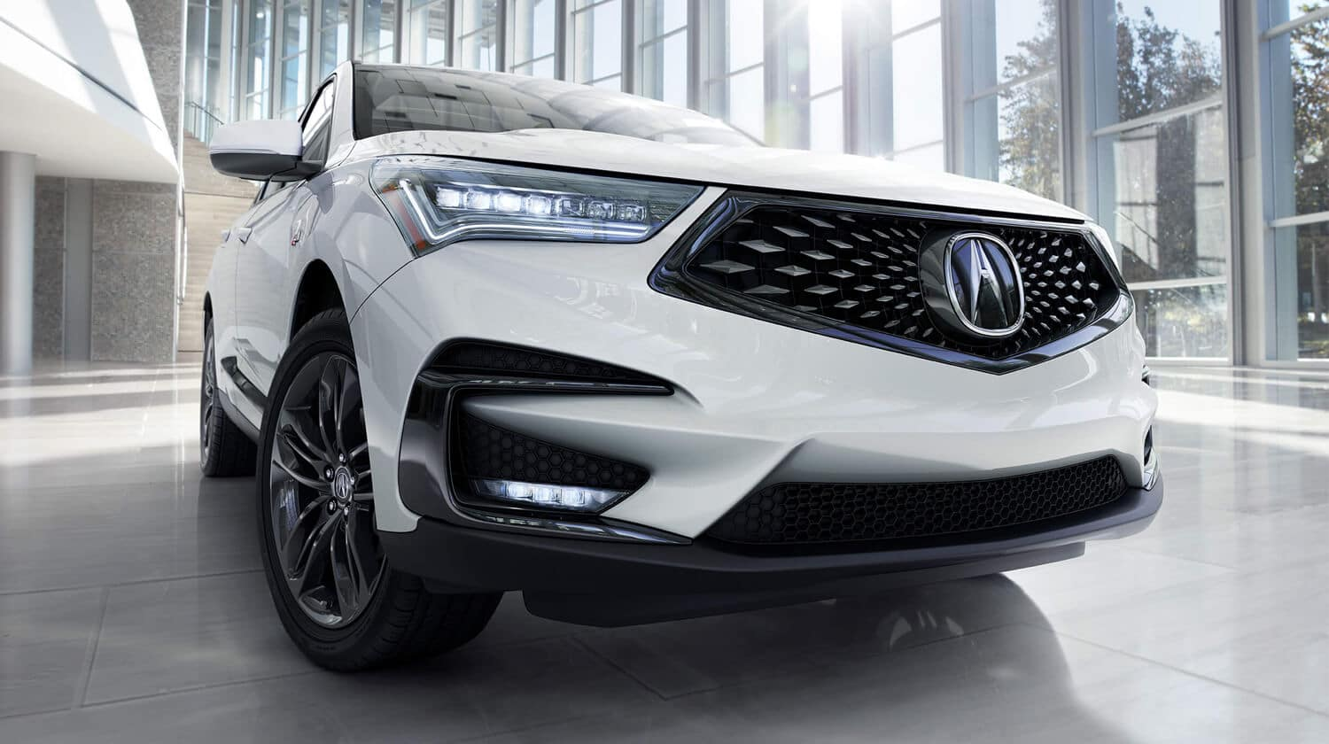 2019 Acura RDX SH-AWD Exterior Front Grille Closeup