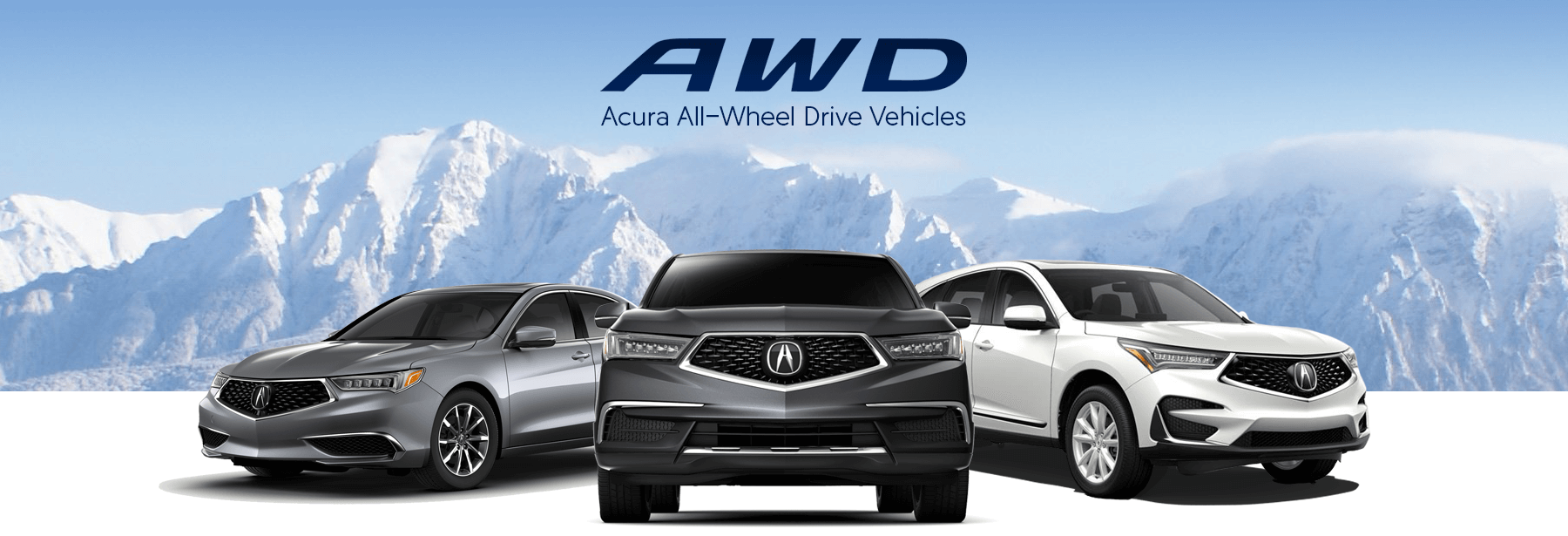 Acura All-Wheel Drive Slider