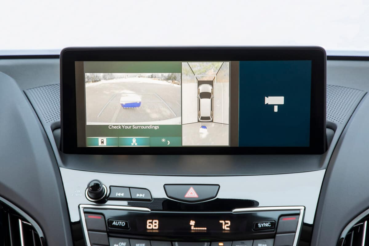 2020 Acura RDX backup camera