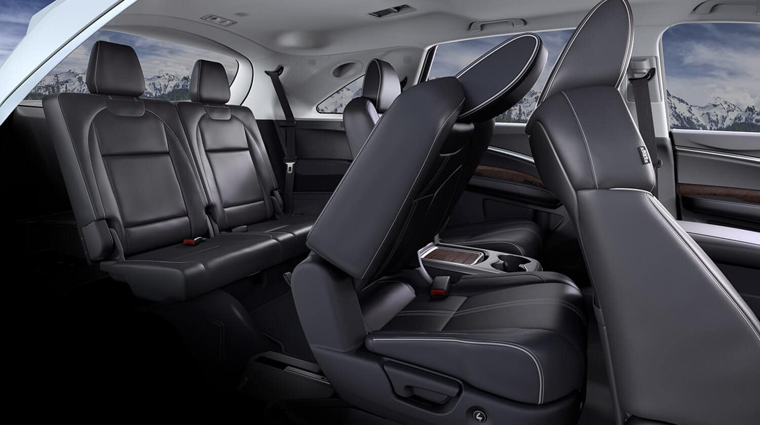 2020 Acura MDX SH-AWD Interior Seating 3rd-Row Access