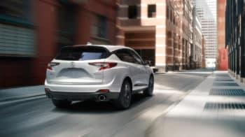 2020 Acura RDX SH-AWD Exterior Rear Angle Passenger Side