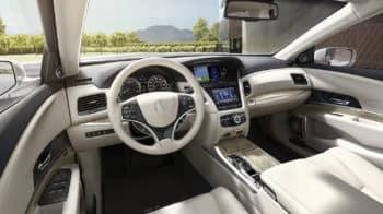 2020 Acura RLX Sport Hybrid SH-AWD Interior Cockpit Overview
