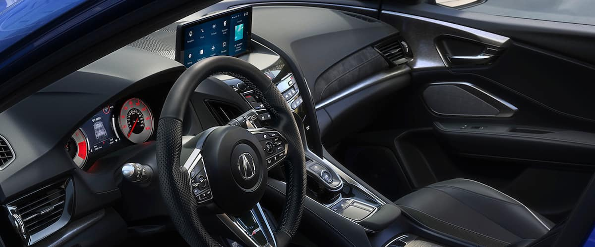 Front seats of the 2021 Acura RDX