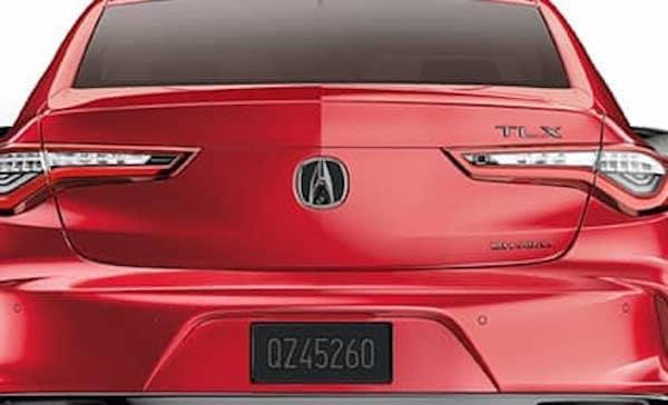 2021 TLX Black Emblem