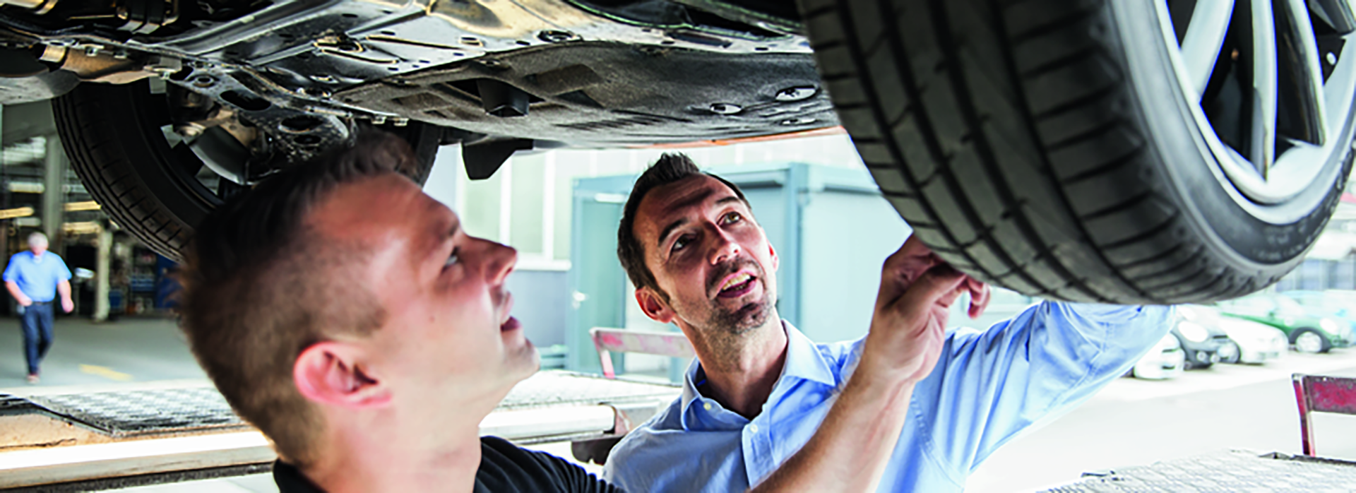 MINI Tire services