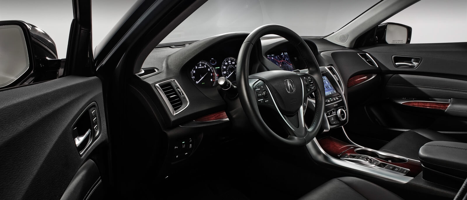 2016 Acura TLX front interior