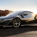 2017 Acura NSX parked