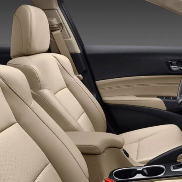 2017 Acura ILX Heated Leather Seats
