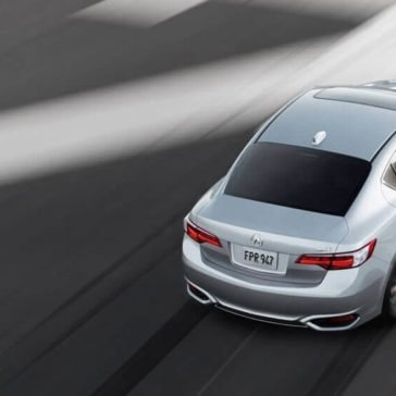 2017 Acura ILX exterior birds eye view