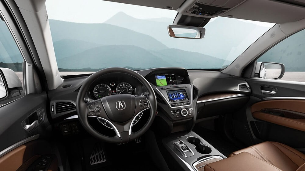 2017 Acura MDX Advance Interior Cabin