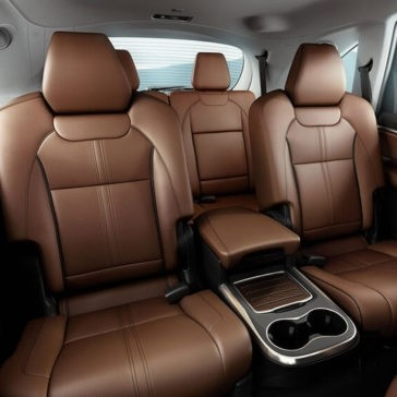 2017 Acura MDX Rear Leather Seats