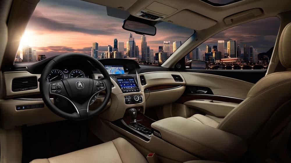 2017 Acura RLX Interior Cabin