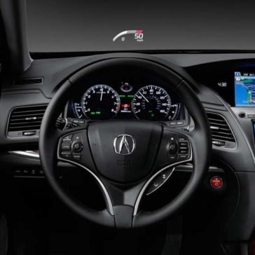 2017 Acura RLX Steering Wheel