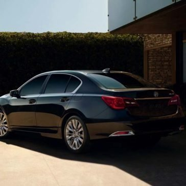 2017 Acura RLX rear exterior