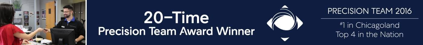 Precision Team Award Winner 2016