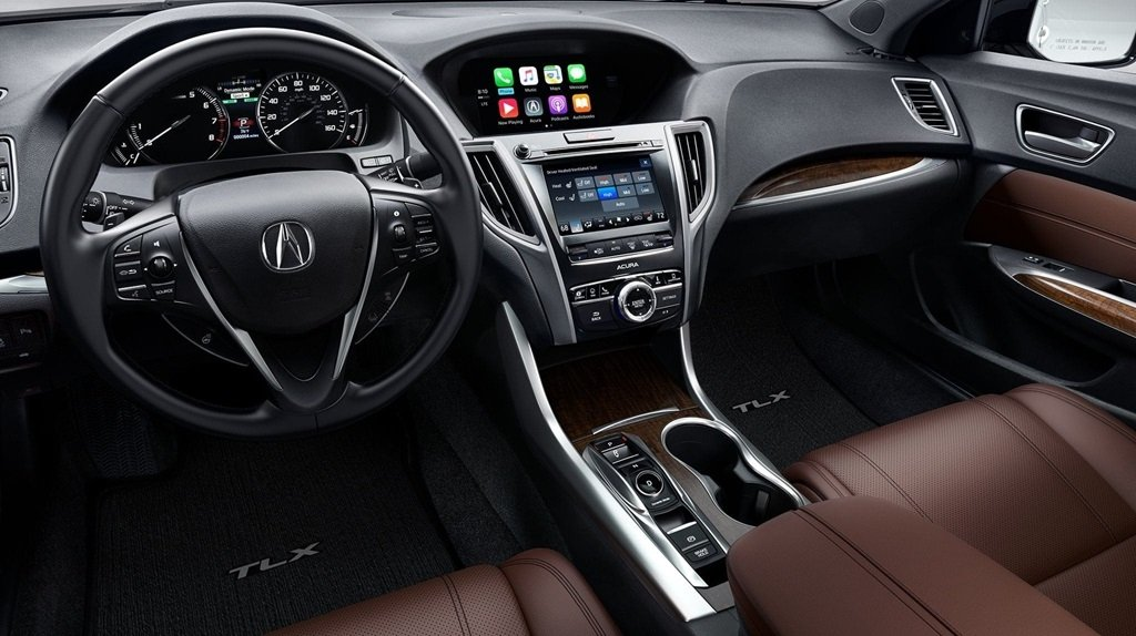 2018 Acura TLX interior cabin