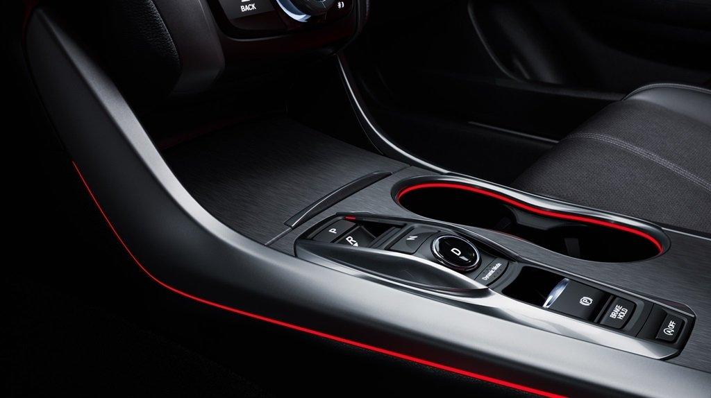 2018 Acura TLX gear selector