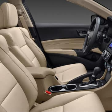 2018 Acura ILX interior front seating'