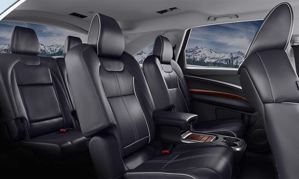 2018 Acura MDX Advance Pkg Ebony Interior