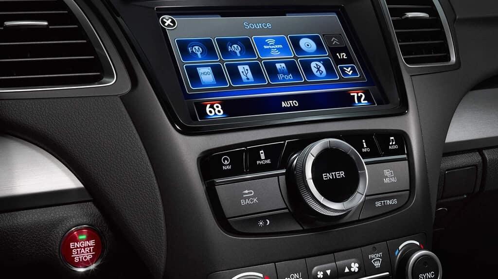 2018 Acura RDX interior console