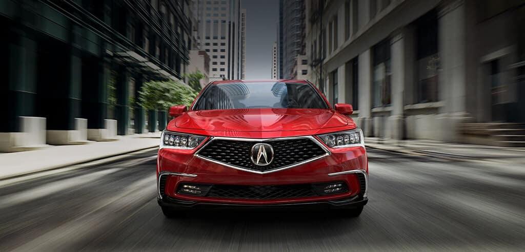 redesigned 2018 Acura RLX
