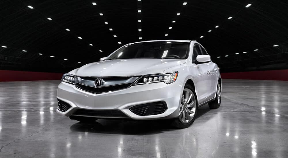 Acura ILX in White