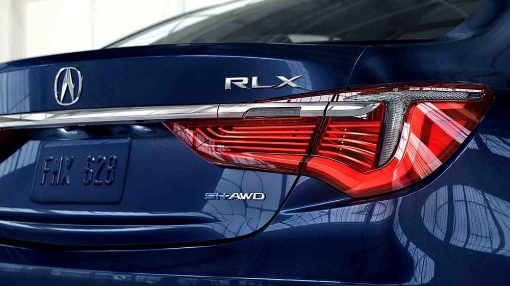 2018 Acura RLX rear exterior