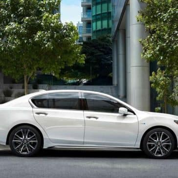 2018 Acura RLX passenger side exterior