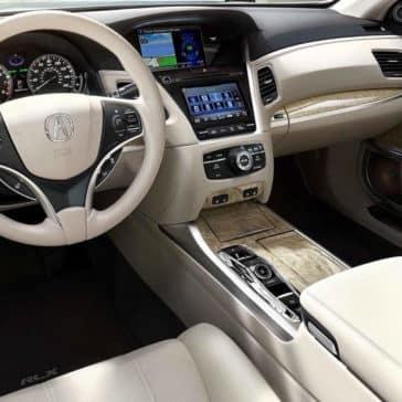 2018 Acura RLX interior cabin